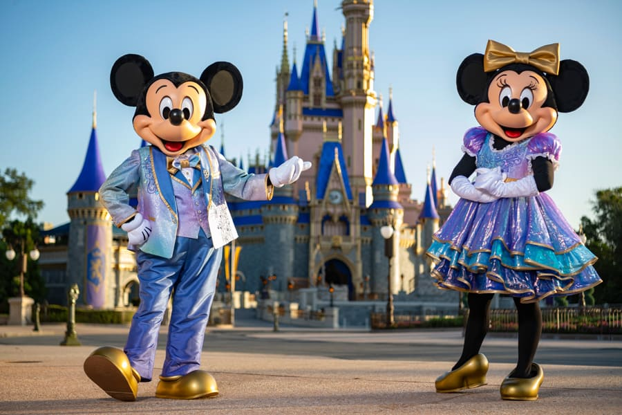 Disney World's 50th Anniversary Character Costumes