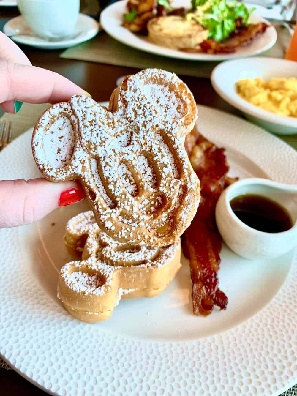How to Make Mickey Waffles At Your House 1