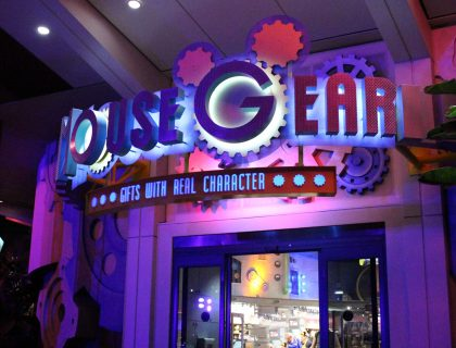 Mouse Gear gift shops at disney world