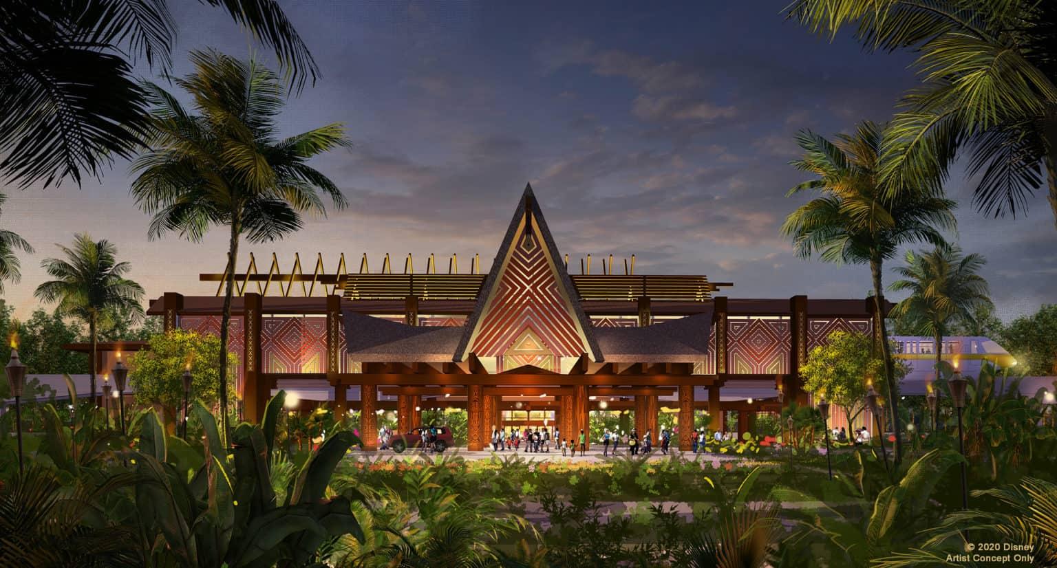 Inside the Moana Rooms at Disney's Polynesian Village Resort 5