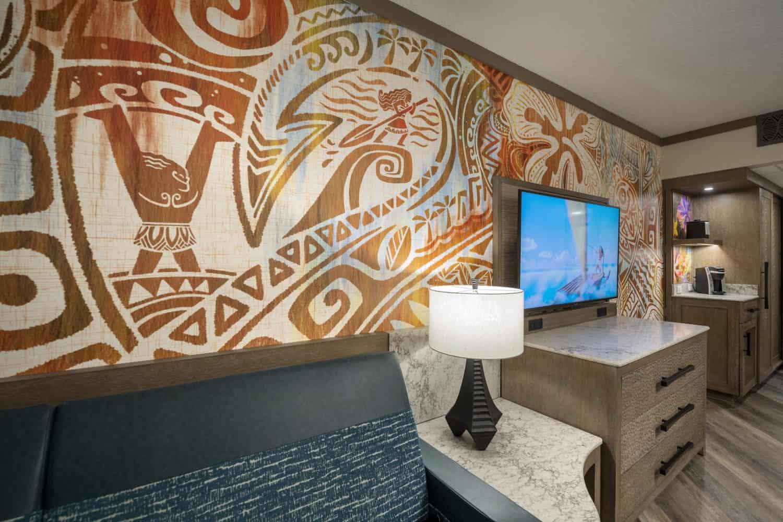 Inside the Moana Rooms at Disney's Polynesian Village Resort 2