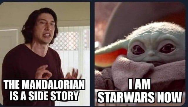Favorite Funny Baby Yoda Memes 12