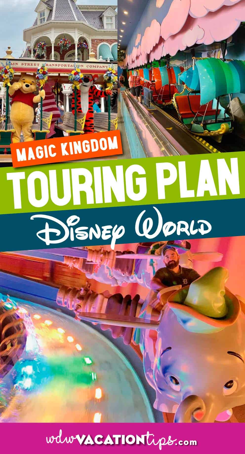 Vintage Magic Kingdom Touring Plan 1