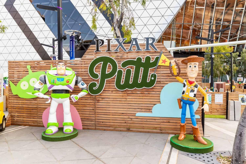Pixar Inspired Mini Golf PIXAR PUTT 3