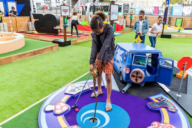 Pixar Inspired Mini Golf PIXAR PUTT 4