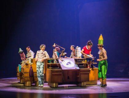 Cirque du Soleil Opening in November 5